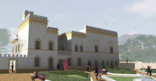 1_Tesi di Laurea - Restauro della Villa Webber a La Maddalena_Progettista Arch. Francesco Morittu