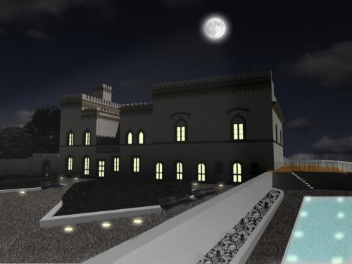 2_Tesi di Laurea - Restauro della Villa Webber a La Maddalena_Progettista Arch. Francesco Morittu