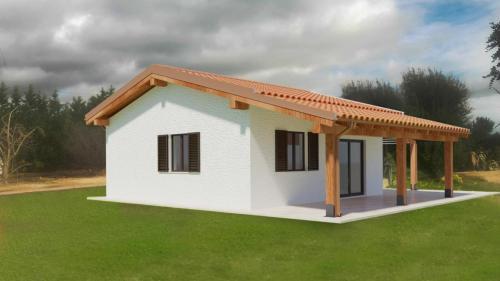 Progetto di ristrutturazione edilizia casa unifamiliare