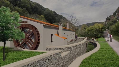 Progetto Restauro Vecchio Molino nella valle di Logulentu