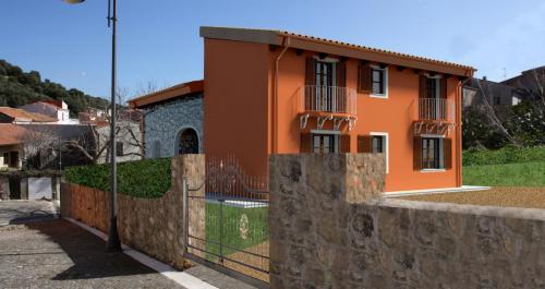 Simulazione 3D di una casa unifamiliare