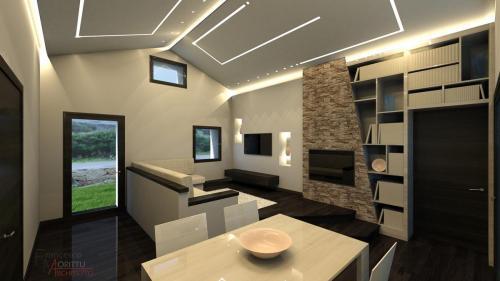 Progetto di Interior Design Casa Unifamiliare a Loiri